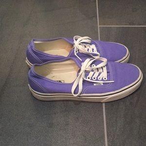 Vans men's 7.5. Purple